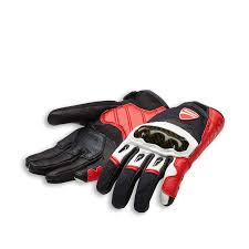 Company C1 Fabric Leather Gloves Motorcycle Wear