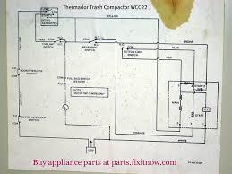 wiring diagrams and schematics fixitnow com samurai appliance thermador trash compactor wcc22 schematic diagram