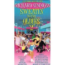 richard simmons sweatin to the oldies 3. item 3 richard simmons - sweatin to the oldies 2 (vhs, 1993) -richard