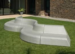 modern garden chairs uk. boa curved garden sofa - discontinued modern chairs uk