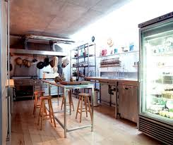 Small Picture Beige Ceramif Floor With Glass Fridge For Successful Restaurant
