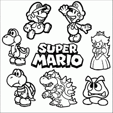 Coloring Pages Super Mario Bros Coloring Pages Timurtatarshaov