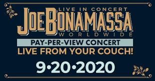 Live in Concert WORLDWIDE presented by ... - Joe Bonamassa