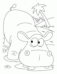 pictures of hippo coloring home
