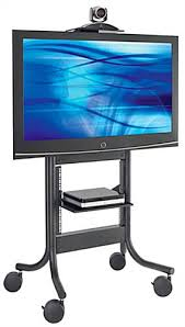 Commercial Tv Display Stands Gorgeous These TV Stands With Casters Are Mobile Digital Presentation Stands