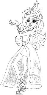 Small Picture Monster High 13 Wishes Coloring Pages GetColoringPagescom