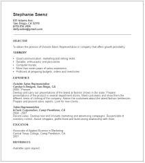 Entry Level Sales Resume Sample Sample Resume For An Entry Level ...
