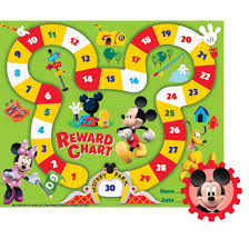 Mickey Mouse Job Chart Mickey Mouse Clubhouse Mickey Park Mini Reward Chart By Eureka