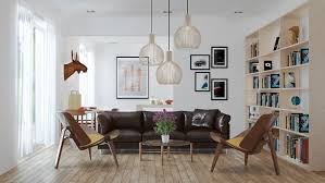 scandinavian leather furniture. 3 Beautiful Scandinavian Style Interiors Leather Furniture R