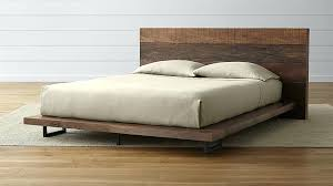 reclaimed wood king platform bed. Trendy Reclaimed Platform Bed Simple Wood Devon King Frame E