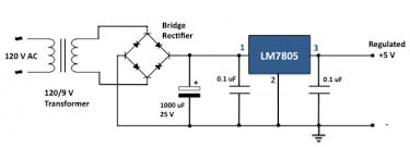 7805 circuit diagram the wiring diagram 5v power supply circuit diagram using 7805 nodasystech circuit diagram