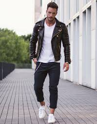 ideas for stylish leather jacket outfits