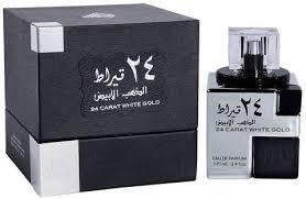 Buy <b>Lattafa</b> - <b>24 Carat White</b> Gold For Men & Women 100 Ml Online ...
