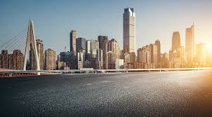Urban Road Background Of Chongqing Photo Image_picture Free Download