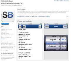 Online Work Schedule Schedulebase Iphone App Now Available Online Employee