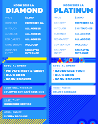 Kcon Seating Chart 2018 Kcon La Concert Tickets Kcon Usa Official Site