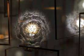 unique lighting designs. modern lighting fixture that looks like dandelion unique design designs c