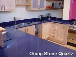 omag dark blue galaxy star kitchen countertops