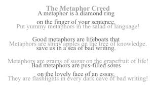 metaphor creed gracyk s english class yummy metaphors in the metaphor creed gracyk s english class yummy metaphors in the salad of language english lesson
