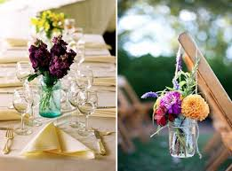 Mason Jar Table Decorations Wedding it's all in the details ten ways with mason jars BLOVED Blog 54