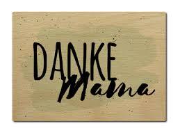 Luxecards Shabby Postkarte Aus Holz Danke Mama Mutter Gruß