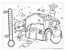 Small Picture December Holiday Coloring Pages Coloring Home