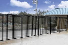 Decorative Security Fencing Strauss Fence Company New Concord Ohio Ornamental Aluminum Fence