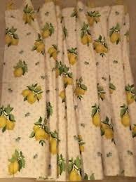 Laura Ashley Lemon Grove professionally made Pair Of curtains 552 x 133 cm  | eBay