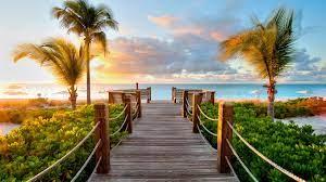 Paradise Beach Sunset HD wallpaper ...