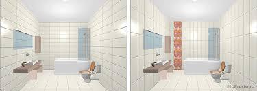 Как зрительно увеличить размеры ванной комнаты