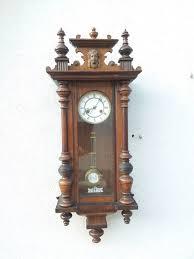 wall clock wood 20th century