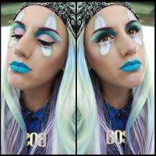 chola clown makeup for colored contacts jpg 960x960 chola clown eyes