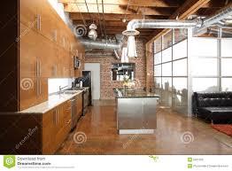 Loft Kitchen Modern Loft Kitchen Royalty Free Stock Images Image 9821259