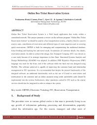Design And Implementation Of Result Processing System Pdf Pdf Online Bus Ticket Reservation System