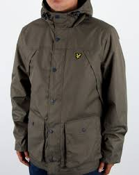 lyle and scott lyle and scott micro fleece lined jacket olive