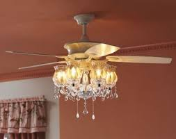 chandelier ceiling fan modern