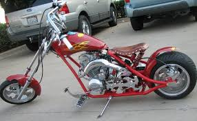 auto mobiles mini chopper bike