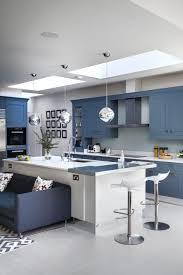 Modern kitchen island Big Modern Metallic Livingetc Modern Kitchen Islands Cool Kitchen Island Ideas