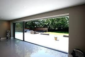 oversized sliding glass doors patio