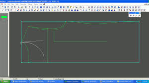 T Shirt Making Program How To Design A T Shirt In Cad Pattern Making Of T Shirt In Cad