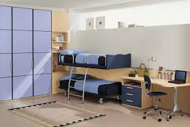kids bedroom interior design with modern furniture also simple bedroom furniture purple and brown color tone