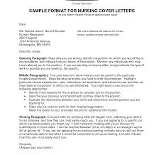 Cover Letter For Nurses Sample Gallery Cover Letter Sample Best