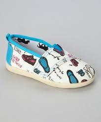 Pitter Pat Ecru Slip On Shoe