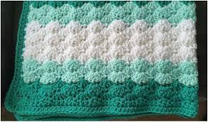 Shell Afghan Crochet Pattern Unique Decorating