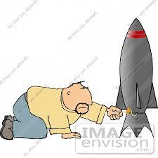 fuse clipart man lighting a rocket fuse clipart 14878 by djart royalty