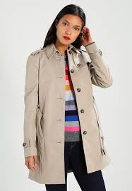 heritage single ted trenchcoat medium taupe