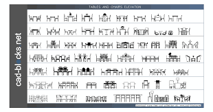 furniture cad blocks tables in elevation view autocad blocks people standing autocad blocks people standing