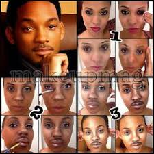 will smith make up transformation