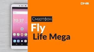 Распаковка смартфона <b>Fly Life Mega</b> / Unboxing <b>Fly Life Mega</b>