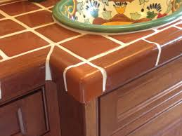 Kitchen Counter Top Tile Mexican Tile Countertop